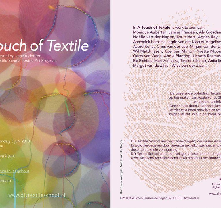 De eindtentoonstelling van de Textile Art opleiding 2 en 3 juni 2018